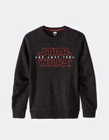 sweat imprimé Star Wars en coton - LJESTAR_BLACK - Image à plat - Celio France