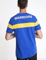 T-shirt NBA Golden State Warriors - LMETEENBA_BLUEWARRIORS - Vue de dos - Celio France