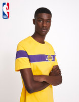 T-shirt NBA Los Angeles Lakers - LMETEENBA_YELLOWLAKERS - Vue de face - Celio France