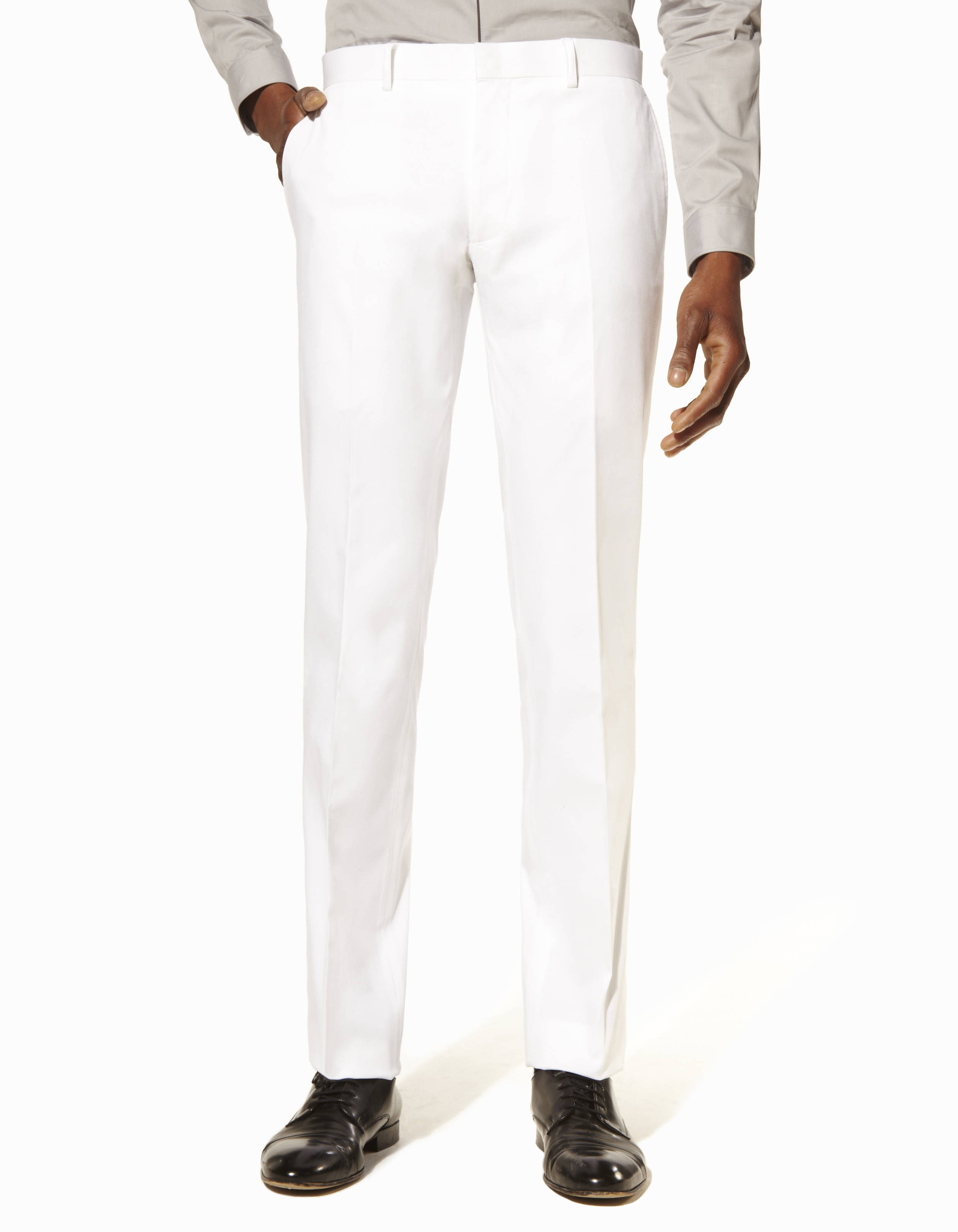 Uni Coton Coordonnable Stretch Boblanco Pantalon Coupe Slim 8OPwn0k