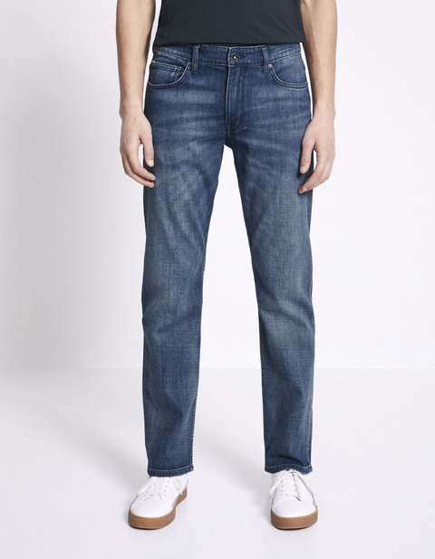 Jean regular C5 Supersoft 3 longueurs - MOJOSOFT STONE - Vue de face - Celio  France c15085c51bd