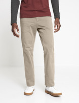 Chino regular coton stretch - MONO_TAUPECLAIR02 - Vue de face - Celio France