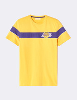 T-shirt NBA Los Angeles Lakers - LMETEENBA_YELLOWLAKERS - Image à plat - Celio France
