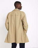 Trench déperlant - MUTRENCH1_BEIGE - Vue de dos - Celio France