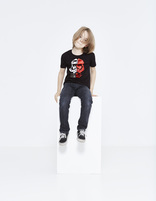 t-shirt enfant Star Wars™ coton - LJEFRAGKI_BLACK - Silhouette - Celio France
