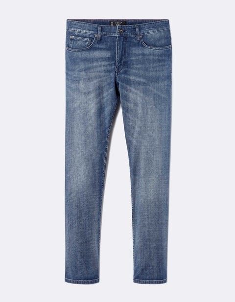 Jean regular C5 Supersoft 3 longueurs  - MOJOSOFT_STONE - Image à plat - Celio France