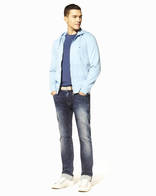 Denim revolution jeans maille coton stretch - BOSWAG_BLEACHED - Silhouette - Celio France
