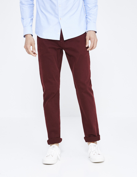 pantalon straight  5 poches - JOPRY_PINOT - Vue de face - Celio France