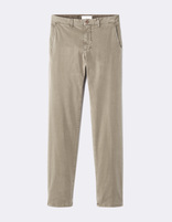 Chino regular coton stretch - MONO_TAUPECLAIR02 - Image à plat - Celio France