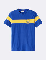 T-shirt NBA Golden State Warriors - LMETEENBA_BLUEWARRIORS - Image à plat - Celio France