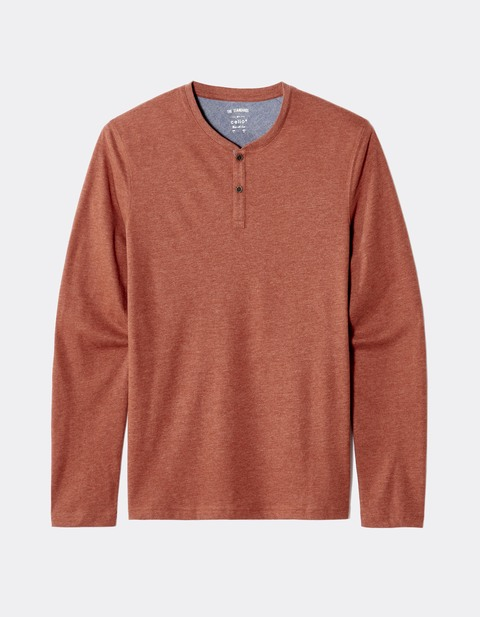 T-shirt toucher doux - JEBERT_TERRACOTTA - Image à plat - Celio France