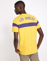 T-shirt NBA Los Angeles Lakers - LMETEENBA_YELLOWLAKERS - Vue de dos - Celio France