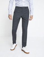Pantalon WILLY slim - anthracite - MOWILLY_ANTHRACITE - Vue de face - Celio France