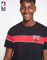 T-shirt NBA Chicago Bulls - LMETEENBA_BLACKBULLS - Vue de face - Celio France